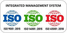 ISO 12647 certification, ISO 9001, ISO 14001, ISO 45001